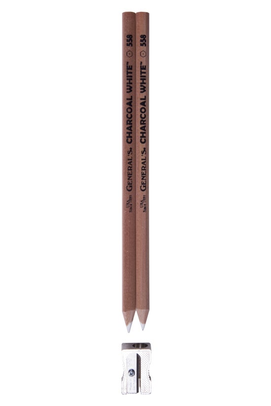 Generals Charcoal Pencil White...