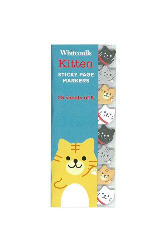 Whitcoulls Page Markers Kitten...
