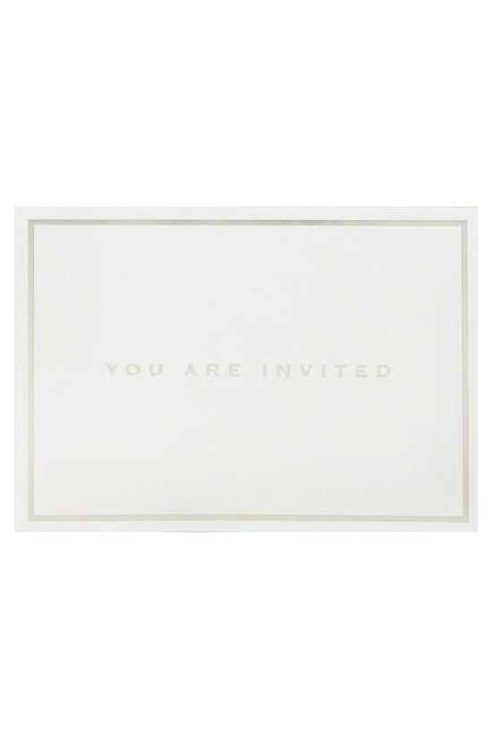 Whsmith Invitation Cards Silve...