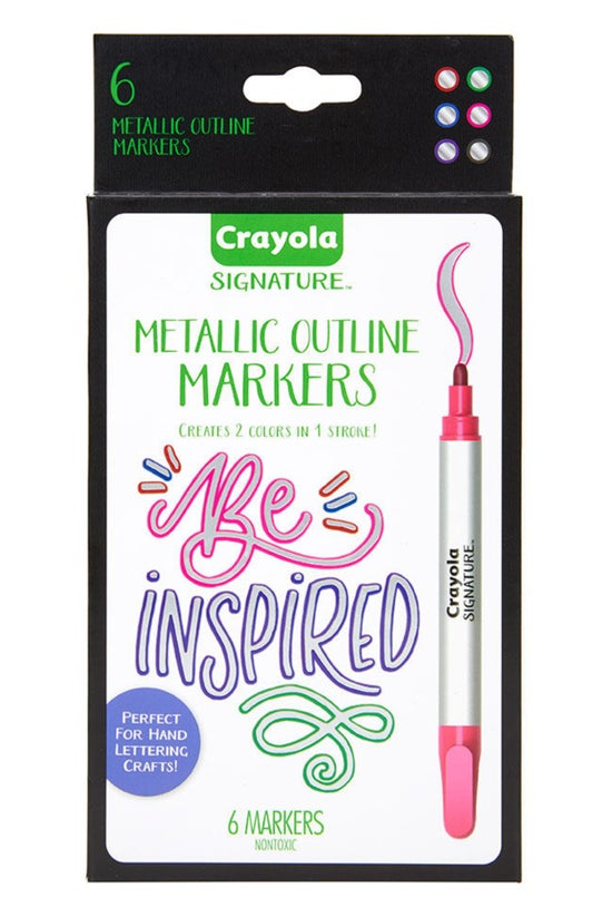 Crayola Signature Metallic Out...