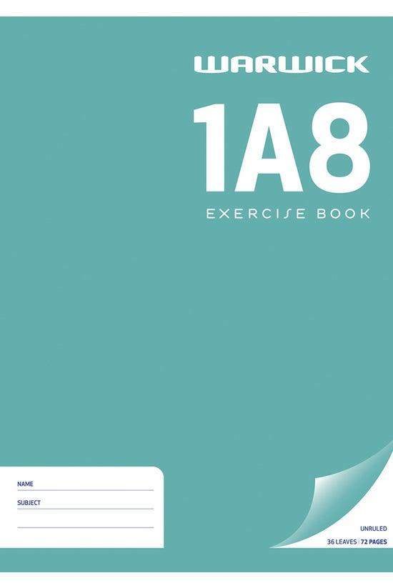 Warwick 1a8 Exercise Book A4 U...