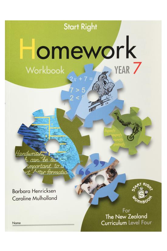 Start Right Year 7 Homework Wo...