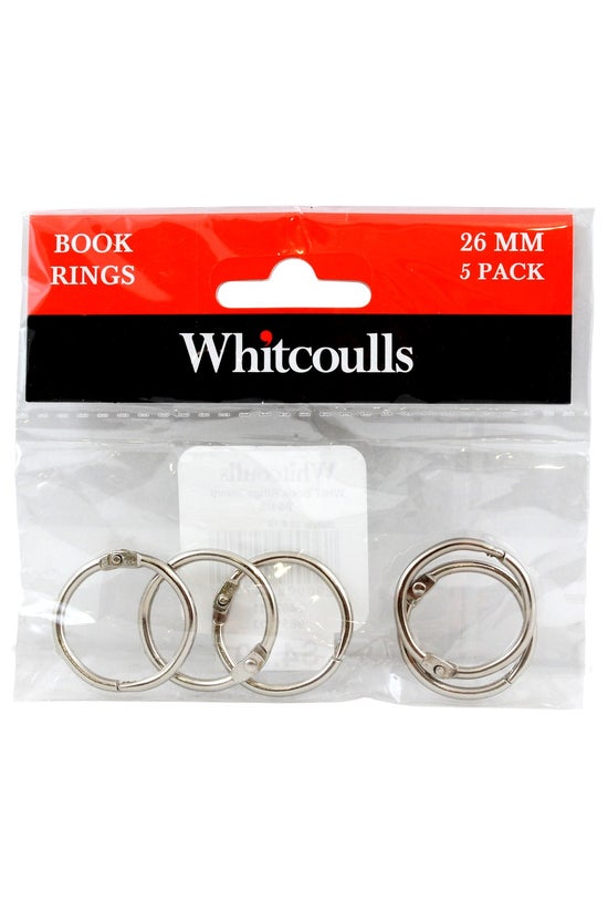 Whitcoulls Book Rings 26mm Pac...