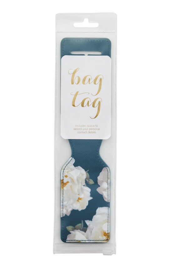 Noted Blossom Bag Tag Floral D...