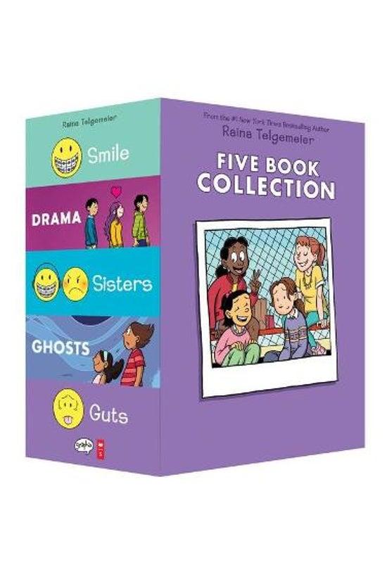 Raina Telgemeier 5 Book Box Se...