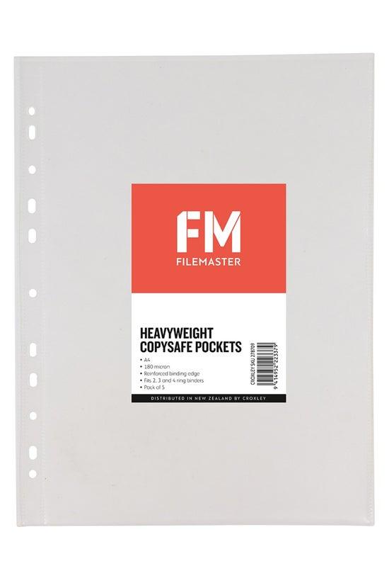 Fm Copysafe Pockets A4 Heavy W...