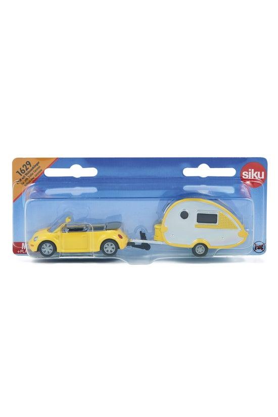Siku Car With Caravan