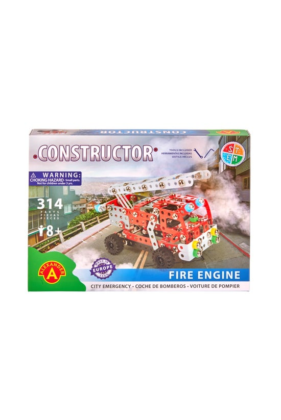 Constructor Fire Engine Kit