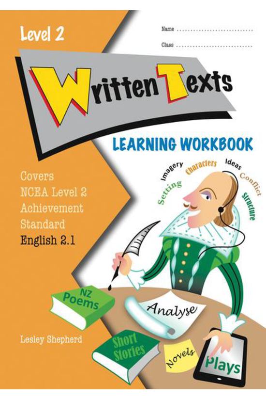 Learning Workbook Ncea Level 2...