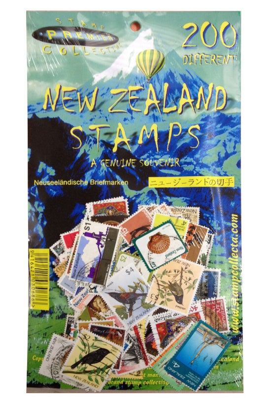 New Zealand Stamps Pack Of 200...