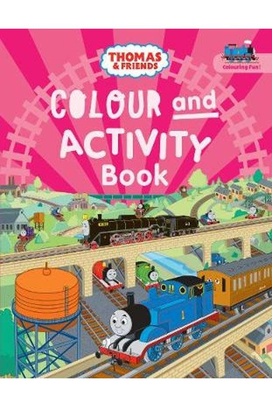 Thomas & Friends Colour An...
