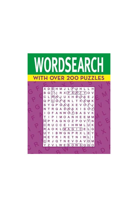 Wordsearch: With Over 200 Puzz...