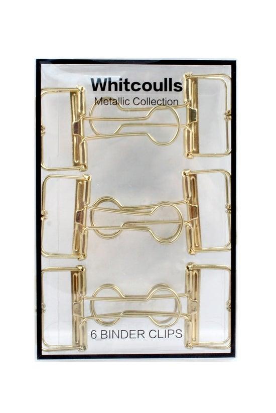 Whitcoulls Foldback Clips 32mm...
