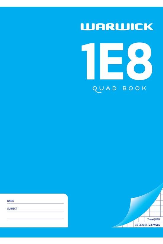 Warwick 1e8 Quad Book A4 36 Le...