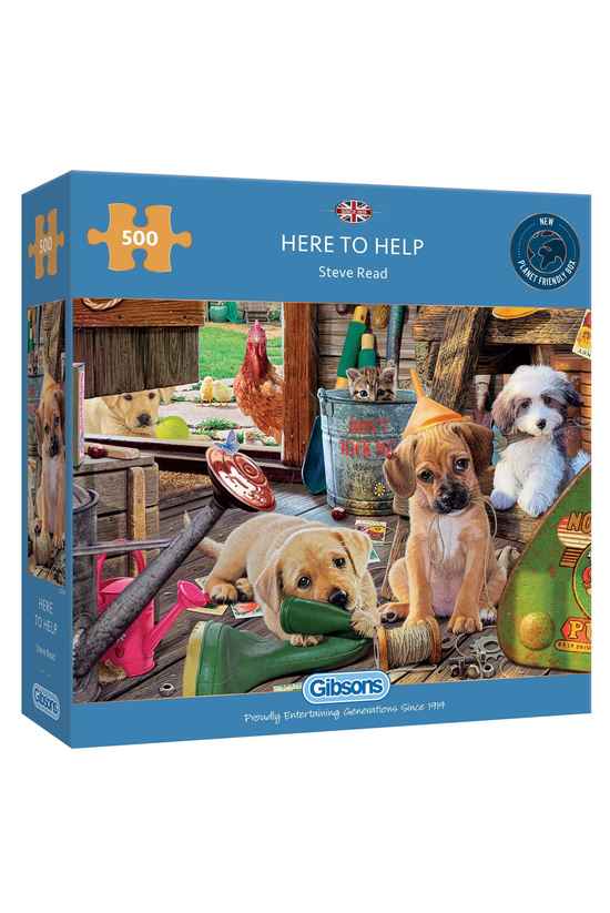Gibsons Jigsaw Puzzle 500 Piec...
