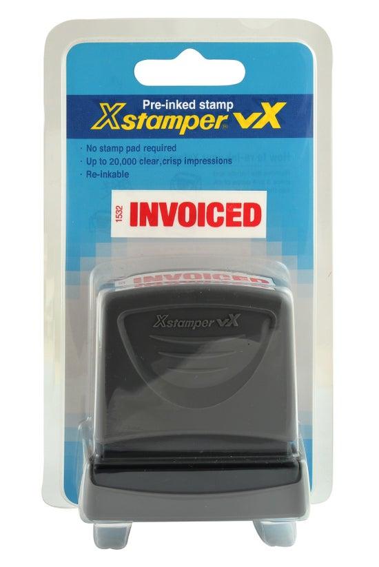 Xstamper Pre-inked Stamp Invoi...