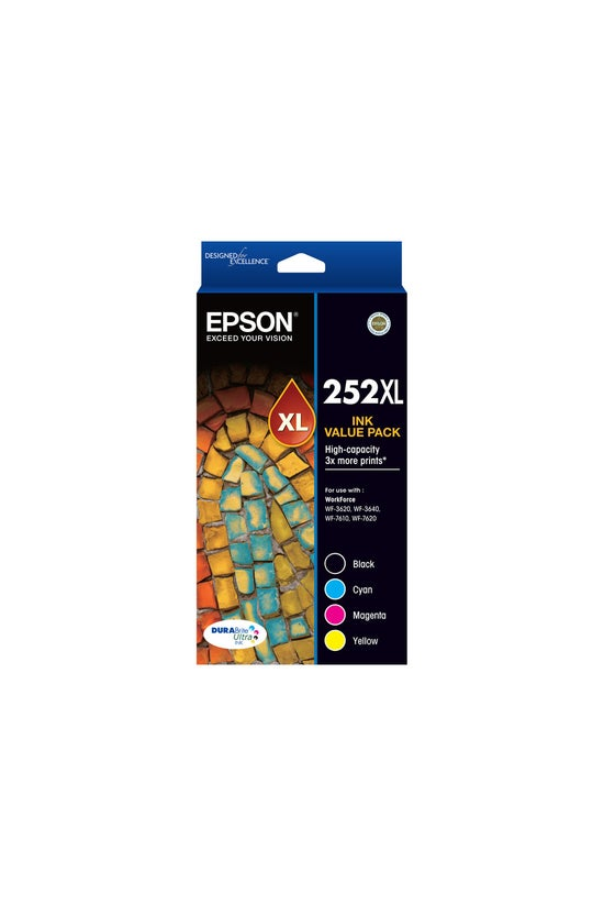 Epson Ink Cartridge 252xl Valu...