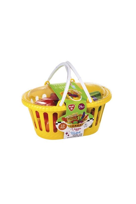 My Play Veggie Basket Playset ...