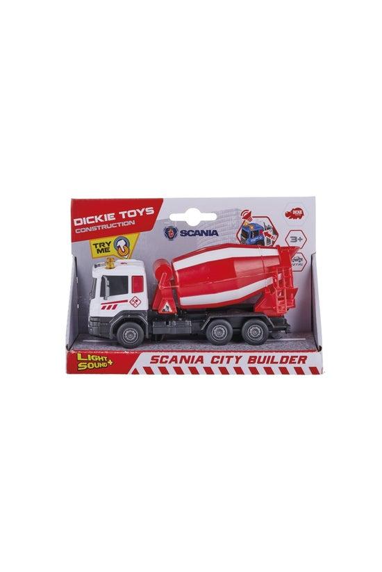 Dickie Toys Scania City Builde...