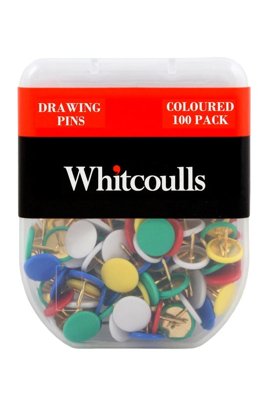 Whitcoulls Drawing Pins Colour...