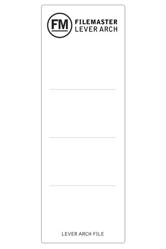 Fm Lever Arch File Spine Label...