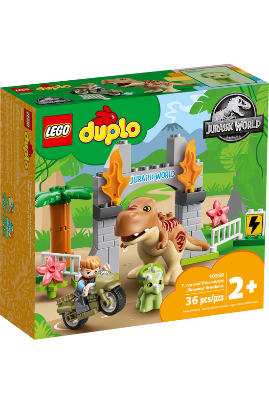 Lego Duplo: T. Rex And Tricera...