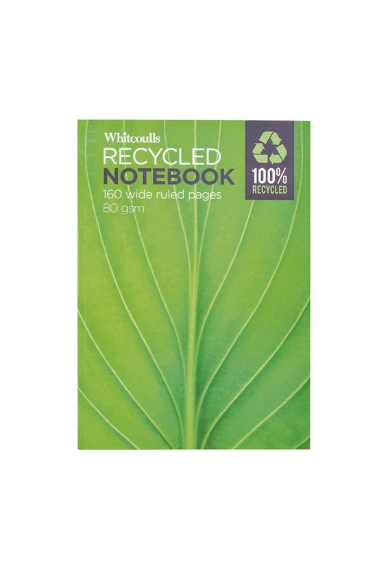 Whitcoulls Large Notebook Recy...