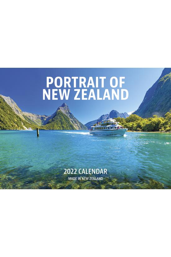 2022 Wall Calendar Portrait Of...