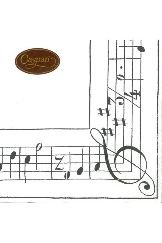 Caspari Lunch Napkins Sonata B...