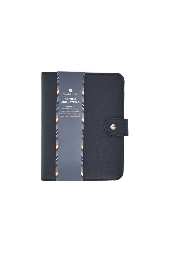 Whsmith Moderno A5 Navy Folio ...