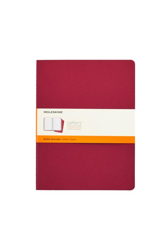 Moleskine Cahier Pack Of 3 Rul...