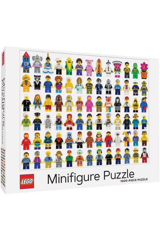 Lego Minifigure Jigsaw Puzzle ...