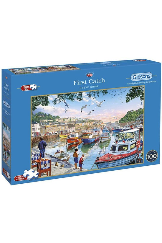 Gibsons Jigsaw Puzzle 500xl Pi...