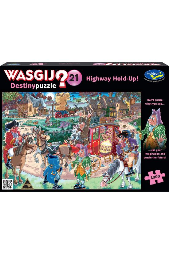 Wasgij Destiny #21: Highway Ho...
