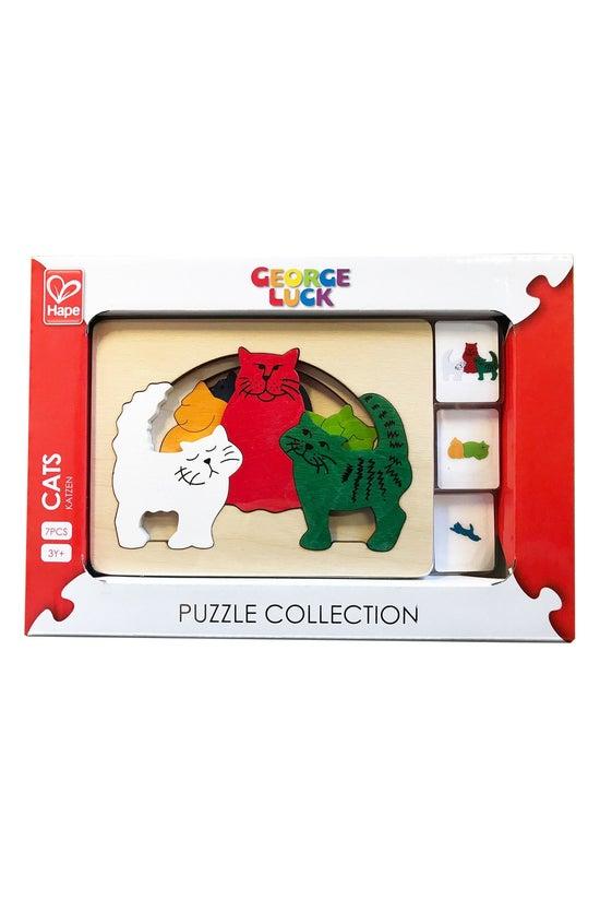 Hape Cats Puzzle