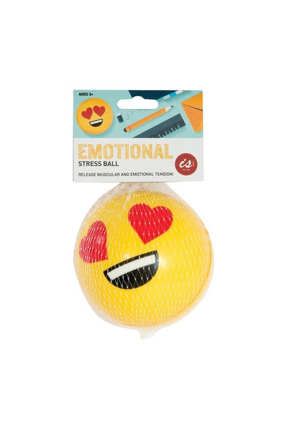 Emoji Stress Ball 7cm Assorted