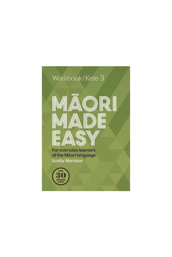 Maori Made Easy Workbook 3/ket...