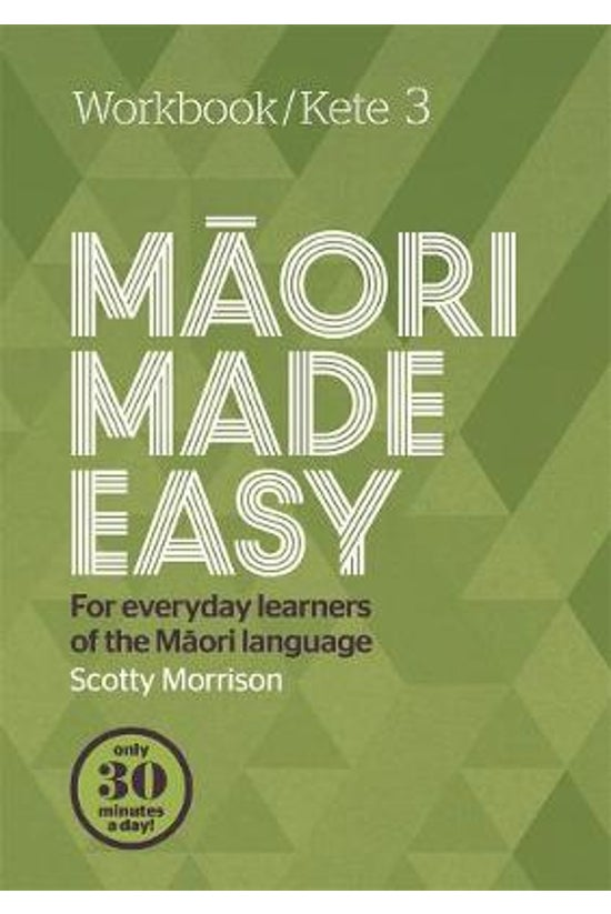 Maori Made Easy Workbook 3/ket...