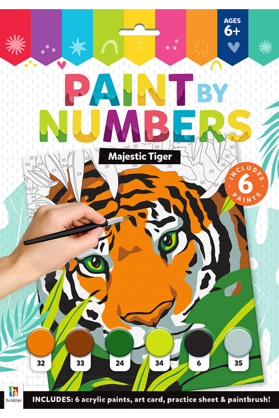 Majestic Tiger Paint By Number...