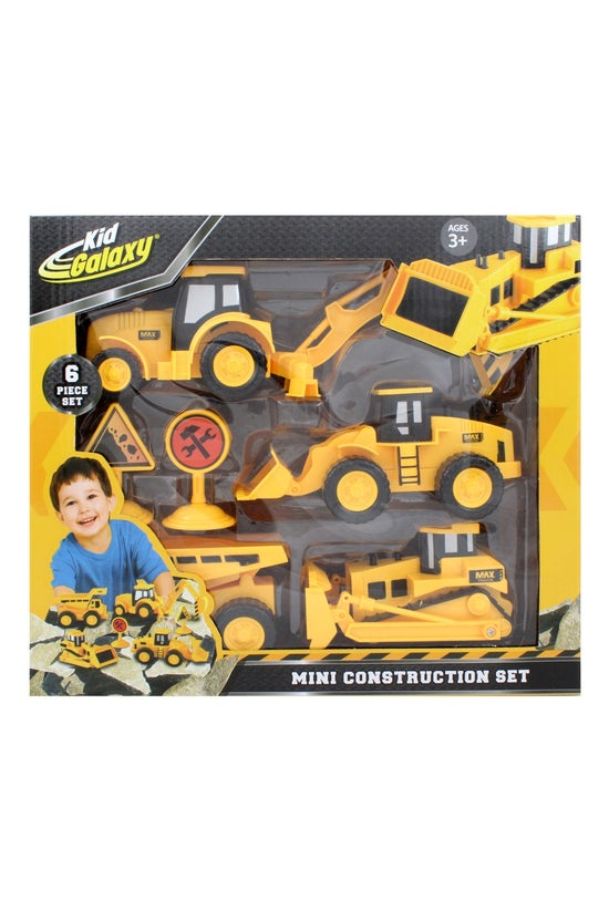 Mini Construction Vehicles Set...
