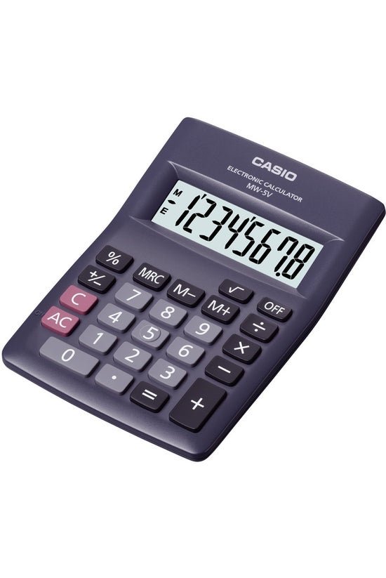 Casio Mw5v Handheld Calculator...