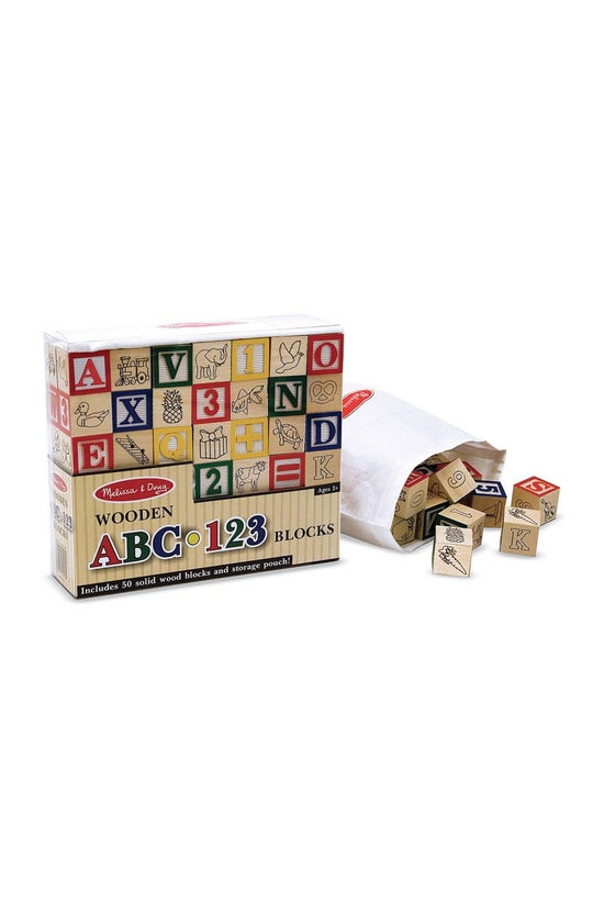 Melissa & Doug  Wooden Abc...