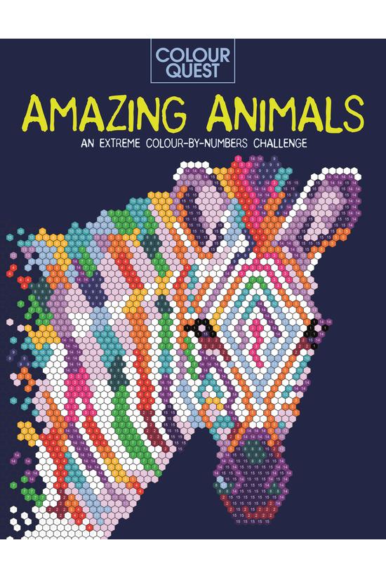 Colour Quest: Amazing Animals