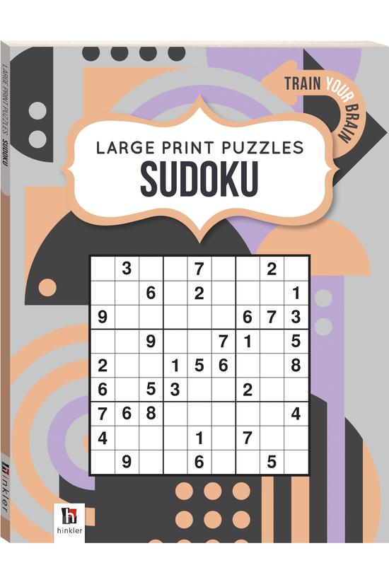 Large Print Puzzle Book: Sudok...