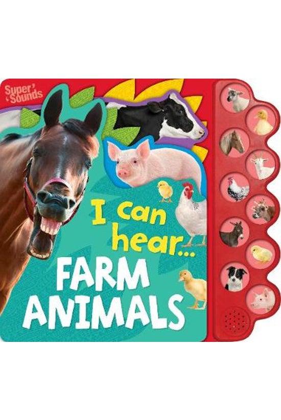 I Can Hear Farm Animals Sound ...