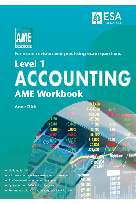 Ncea Level 1 Accounting Ame Wo...