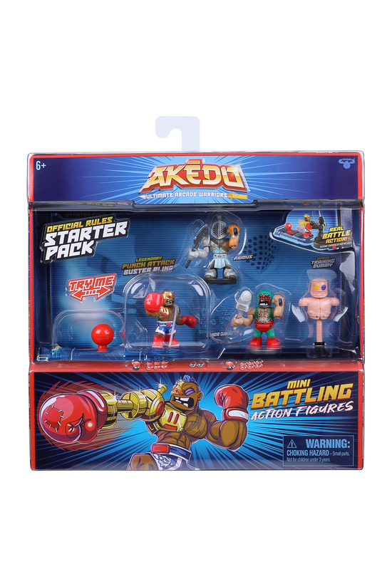 Akedo Ultimate Arcade Warriors...