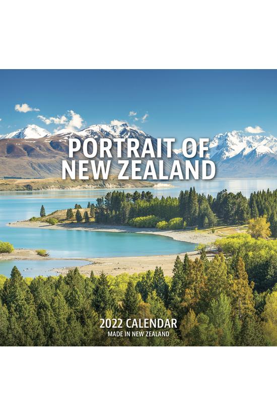 2022 Desk Calendar Portrait Of...