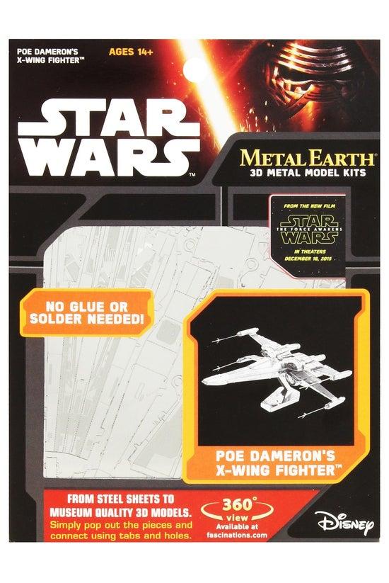 Metal Earth Star Wars Poe Dame...