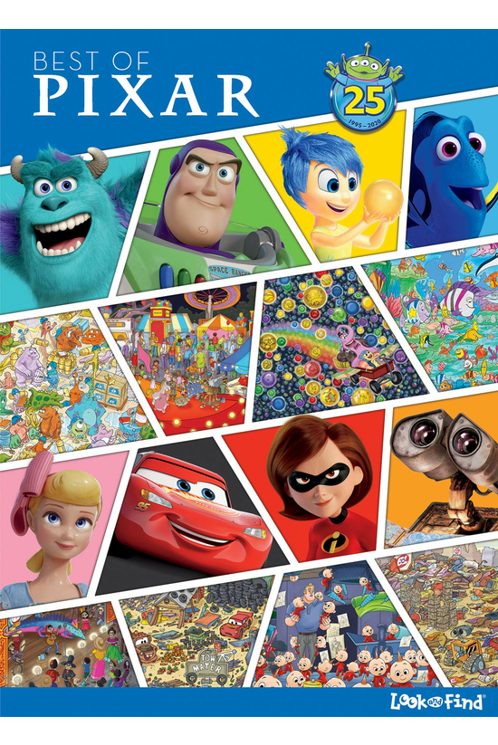 Best Of Pixar Look & Find